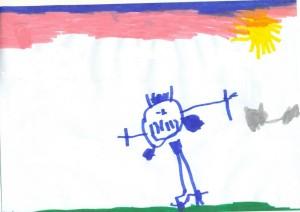 il disegno del bambino